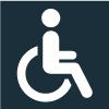 Icone personne à mobilité réduite